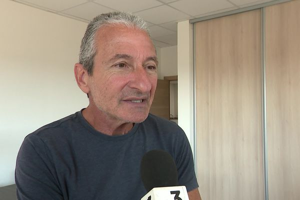 Joseph Colombani, président de la FDSEA et de la chambre d'agriculture de la Haute-Corse.