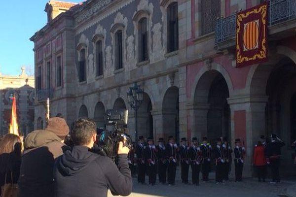 Le parlement de Catalogne - archives
