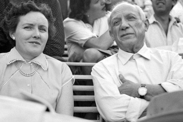 Picasso à la feria de Nîmes le 8 mai 1952