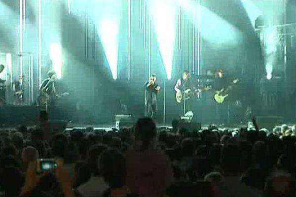 Etienne Daho, au concert de rentrée de Dijon ce vendredi 28 août 2015.