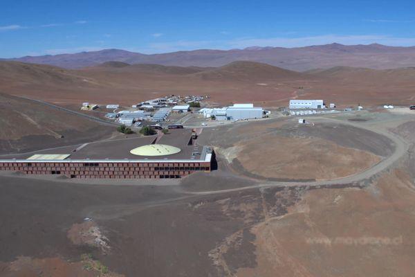Le site de Cerro Paranal au Chili