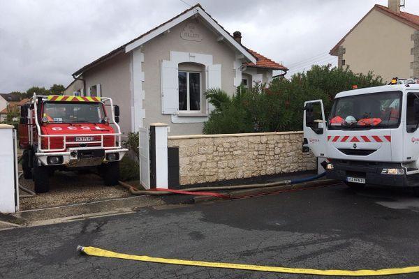Les pompiers sont intervenus au milieu de la nuit dans les quartiers