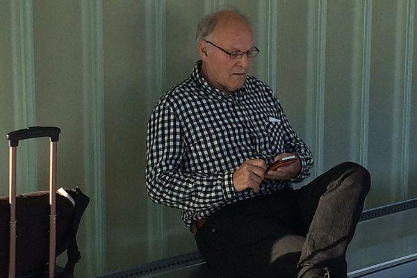 "Bernard Sainz, surnommé ""Docteur Mabuse"" au tribunal correctionnel de Caen ce mardi matin"