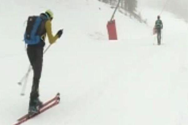 Les skieurs ont pris possession des pistes