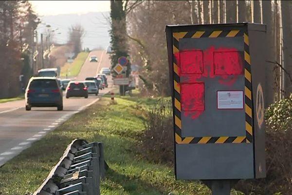 En Lorraine comme partout en France, beaucoup de radars ont été endommagés en 2018 et 2019