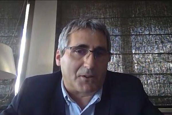 Charles Dudognon, invité du journal régional le 17 juin 2020 sur France 3 Limousin