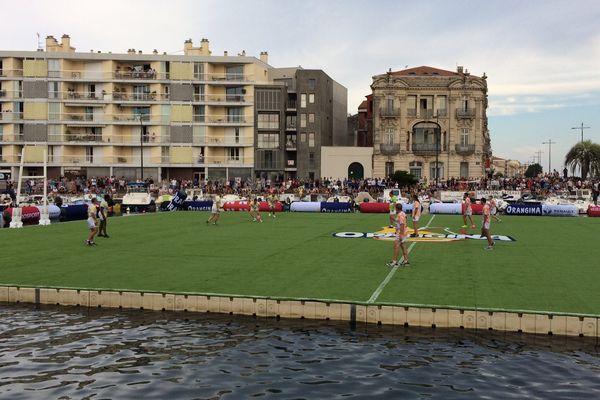 Le tournoi commence au milieu du canal de Sète - 17 juillet 2017