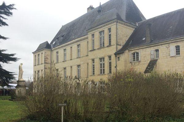 Une partie des bâtiments actuels de l'abbaye