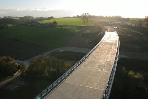 Le viaduc de la Scie (Seine-Maritime)