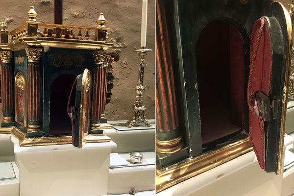Le tabernacle de l'église Saint Jean des Cordeliers profané, les hosties consacrées volées