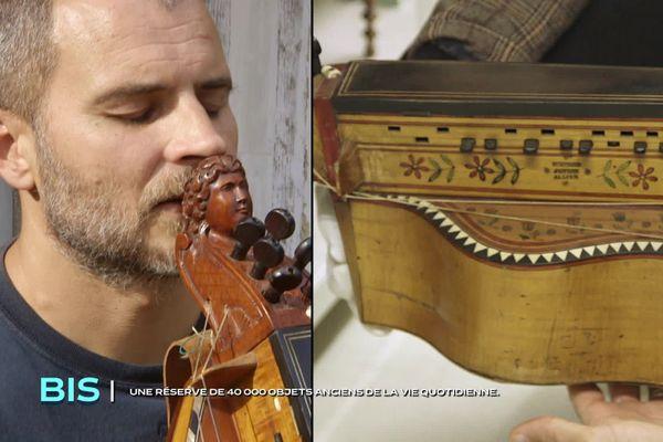 Romain Baudouin, musicien de la scène des musiques traditionnelles