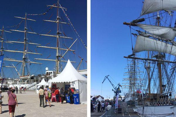 """Le """"Dar Mlodziezy"""" un des plus grand voilier au monde"""