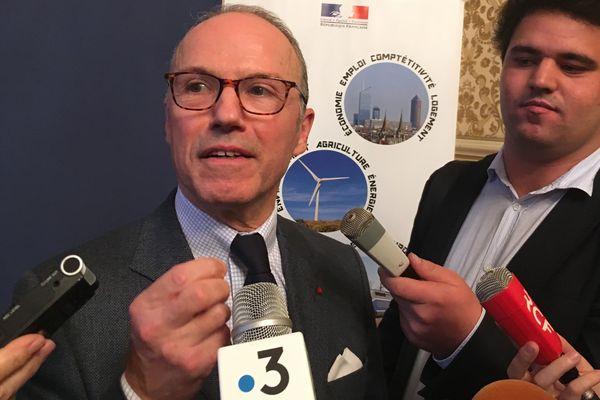 Pascal Mailhos, préfet du Rhône, appelle à la vigilance sur les routes en 2021