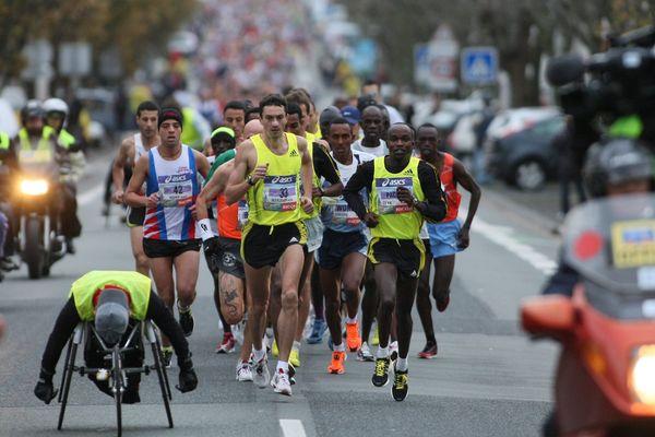 Marathon de La Rochelle 2017.
