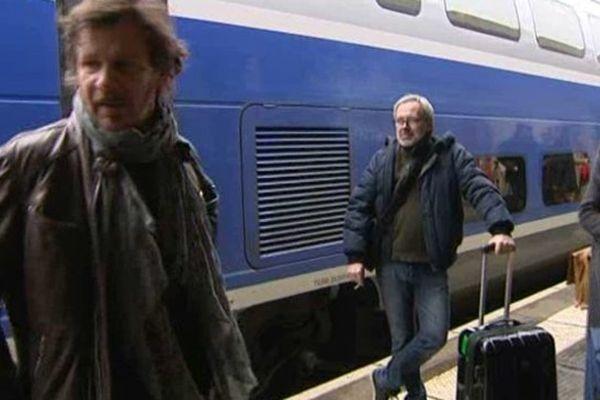 Arrivée de Philippe Lelièvre, membre du jury pour la 1ère fois.