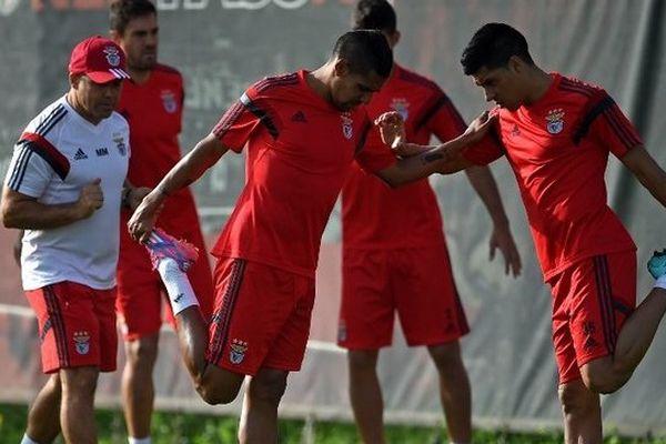 L'entraîneur Jorge Jesus devra se passer du défenseur argentin Lisandro Ezequiel Lopez, expulsé lors du match aller face à Monaco, le 22 octobre.