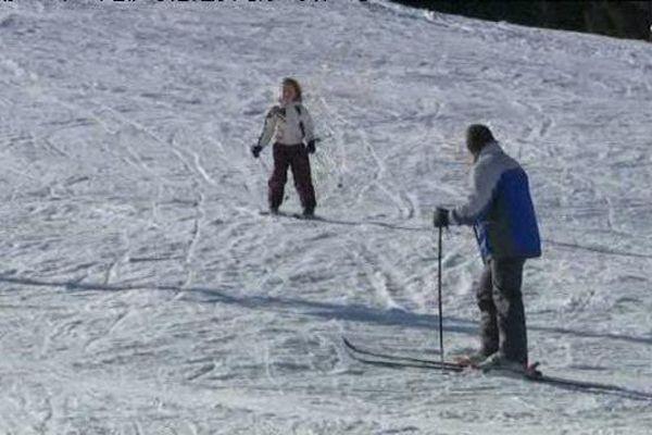 Descente à ski