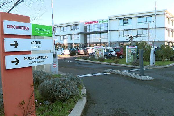 Le siège d'Orchestra-Prémaman est à Saint-Aunès, près de Montpellier - 2020.