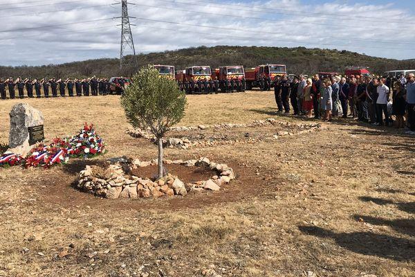 Hommage à à Jérémy Beier, trois ans après l'incendie de Gabian.