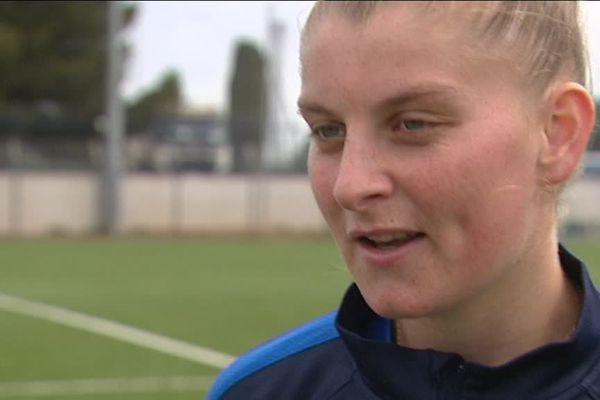 A 20 ans, celle qui n'est pour le moment que remplaçante chez les Bleues espère bien être sélectionnée pour les JO de Rio.