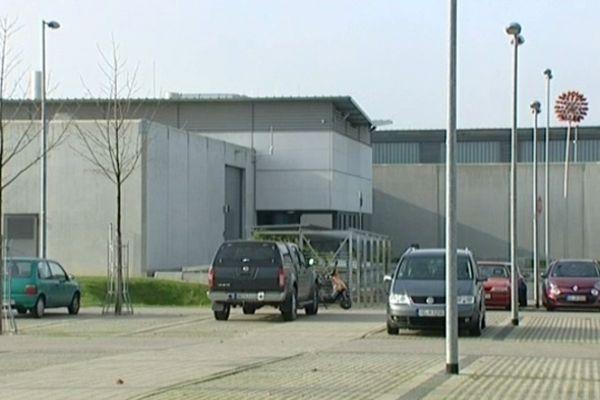 Offenbourg (Allemagne) - prison où est détenu Kamel Bousselat - 19 novembre 2012.