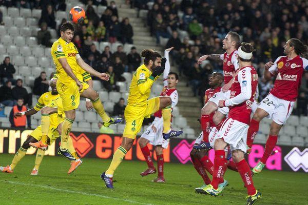 Nantes Reims 0-0 à la Beaujoire le 25 janvier 2014