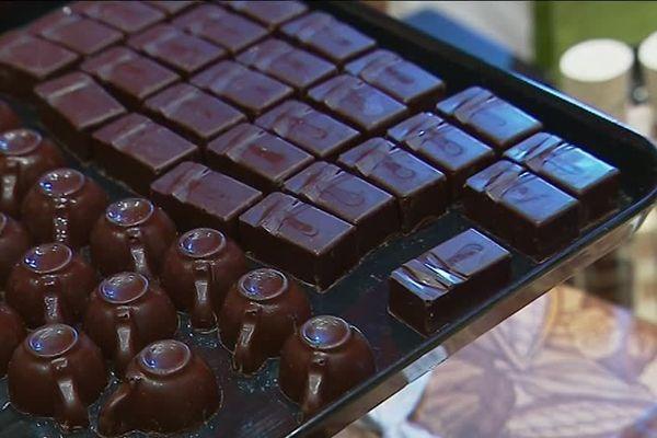 C'était la quinzième édition du salon du chocolat de Loches.