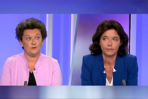 Stéphanie Fresnais et Sylvie de Gaetano s'affrontent au second tour des municipales 2020 à Trouville