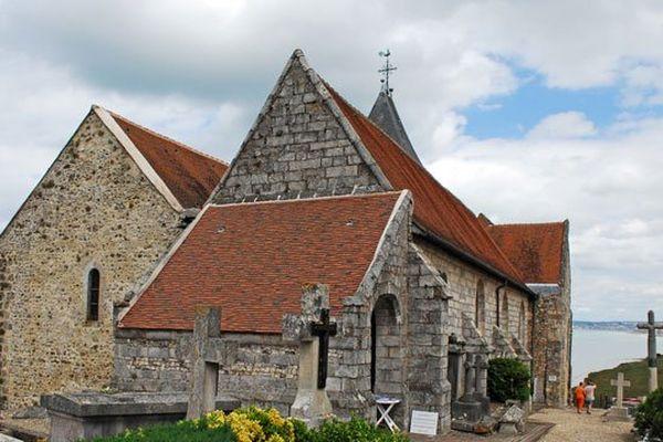 L'église de Varengeville et le cimetière marin