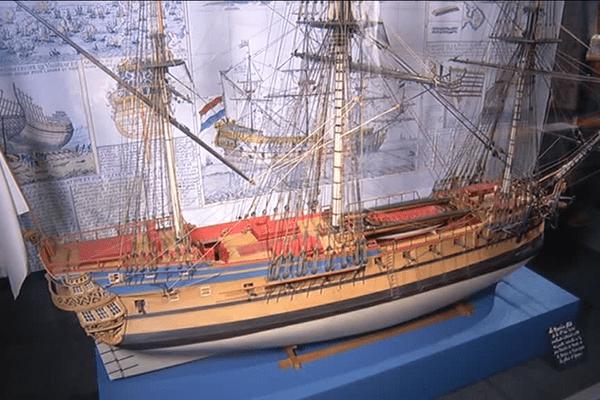 L'Espérance ressemblait à ce type de navire lorsqu'il a sombré au large des Glénan en 1751