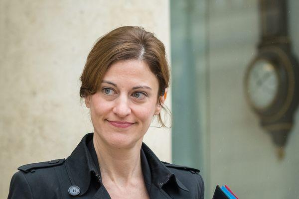 Juliette Méadel, ex-secrétaire d'Etat chargée de l'Aide aux victimes, à l'issue d'un conseil des ministres en mai 2017.