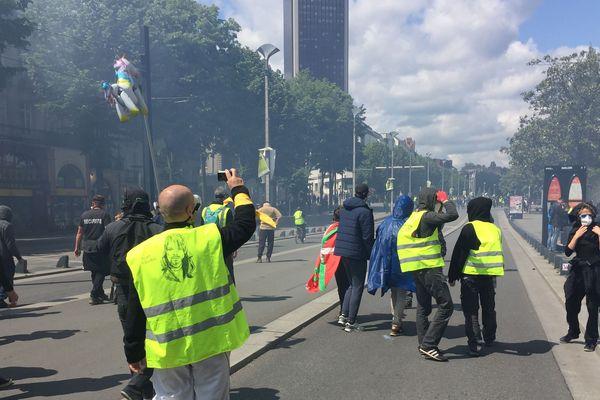 Manif des Gilets jaunes à Nantes le 11 mai 2019