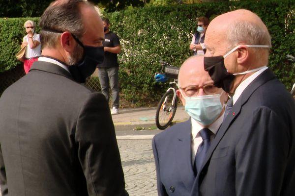Alain Juppé, Bernard Cazeneuve, Edouard Philippe, les anciens premiers ministres
