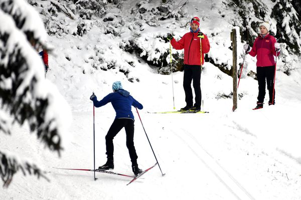 Illustration. Les 24 domaines de Haute-Savoie Nordic ont enregistré une hausse de fréquentation de 80 % lors de ces vacances de Noël par rapport à l'année dernière.