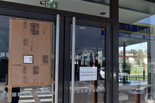 saccage d'un fast-food de St-Priest-en-Jarez le 30 mars dernier