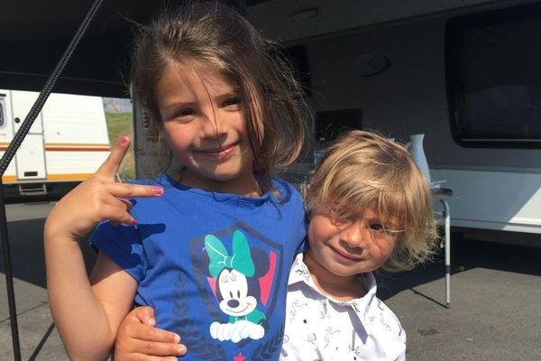 Slowana bientôt 6 ans et Taliana, 3 ans