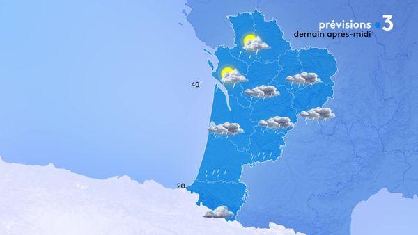Une nouvelle perturbation pluvieuse gagnera toute la région demain...