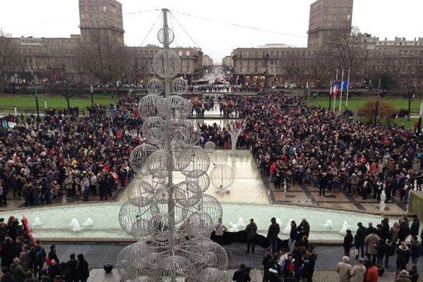 Le rassemblement au Havre