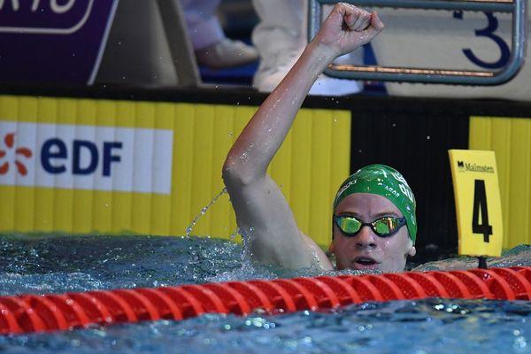 Victoire de Léon Marchand au 200 m papillon