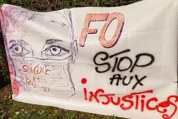 Le Centre Psychothérapique de Nancy en grève.