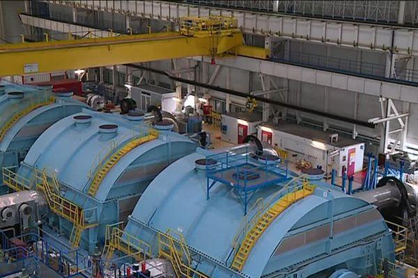 Le réacteur numéro 1 de la centrale est à l'arrêt pour des travaux. La centrale, avec ses deux réacteurs, produit 5 % de l'électricité française.