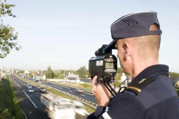Radar et gendarmes étaient de sortie ce week-end.