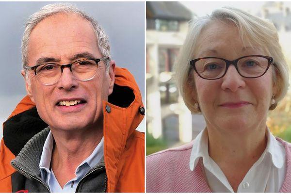 Hugues Tupin (LDVG) est face à Jocelyne Poitevin (LDIV) pour le débat du 2e tour des éléctions municipales ce 24 juin à 18h
