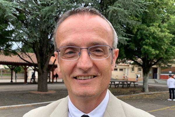 L'autre candidat (Divers Centre) à Couzeix Sébastien Larcher