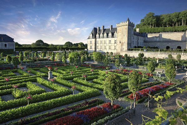 Le château et les jardins de Villandry.