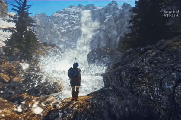 Winterfall, un jeu vidéo d'aventure en langue corse