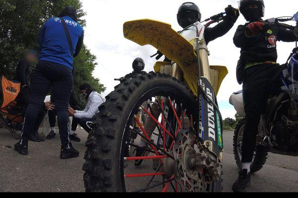 La police nationale a procédé à 8 interpellations de motards ces deux dernières semaines sur la commune de Vaulx-en-Velin, près de Lyon.