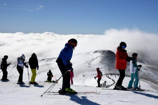 A Super Besse, dans le Puy-de-Dôme, la saison d'hiver 2020 avait été brutalement interrompue par le confinement de mars.