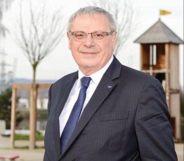 """Patrice Dupray (PCF), tête de liste """"Grand-Couronne Dynamique, Solidaire et Durable"""""""