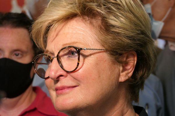 Marie-Claude Jarrot est maire de Montceau-les-Mines et présidente de l'association des maires de Saône-et-Loire.